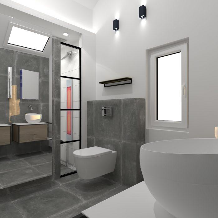 Industrial | Badkamer ontwerp